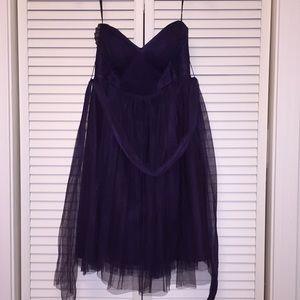 Jenny Yoo Deep Purple Dress